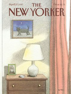 The New Yorker - Monday, April 27, 1987 - Issue # 3245 - Vol. 63 - N° 10 - Cover by : Pierre Le-Tan