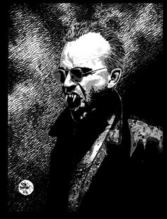 Tim Bradstreet - Vampire The Masquerade  It's incredible when a man's style becomes synonim with a genre (or subgenre). Whatever comes next ends up being compared to it.