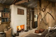 In the corner of the picturesque village of North Cornwall hides a beautiful wooden cottage - Firefly cottage. . Via woodz.co/architecture #interiordesign #homedesign #woodworking #carpentry #interior #woodwork #architecturelovers #lumber #architecture #archilovers #homedesign #chalet #moderndesign #cabineer #cozyhome #wood #decor #carpenter #timberdesign #woodhome #cabins #cottage #lodge #woodcladding #designer #interiordesign #design #homeinspo
