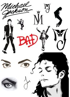 Diagrams for tattoos of MJ ideas