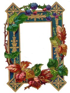 C.1900 WONDERFULLY DETAILED AND COLORFUL FOWERED FRAME DIE CUT SCRAP VICTORIAN picclick.com