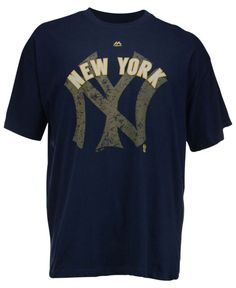 Majestic Men's Big and Tall New York Yankees Cooperstown League Domination T-Shirt