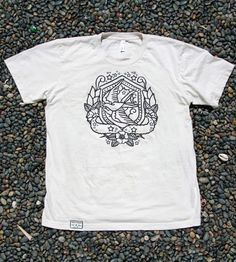 Natural Nautical Swallow Short-Sleeve T-Shirt - Mens by Irontree Clothing on Scoutmob Shoppe