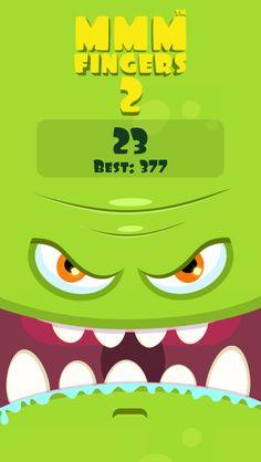 I scored 23 points in Mmm Fingers 2! Can you beat my score? #mmmfingers2