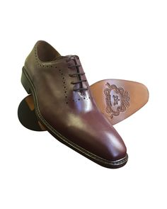 nice Burgundy 100% leather Oxford