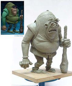 Sculptures - for Uli Meyer Studios on Behance