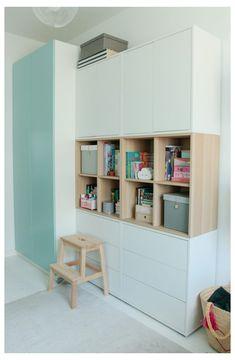Ikea Kids Room, Kids Bedroom, Ikea Eket, Girl Bedroom Designs, Kids Room Design, Fashion Room, Home Living Room, Girl Room, Room Inspiration