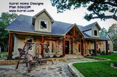 This is too perfect! House Plans by Korel Home Designs