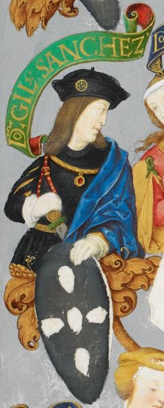 D. Gil Sanches (c. 1200-1236), bastard son of King Sancho I of Portugal