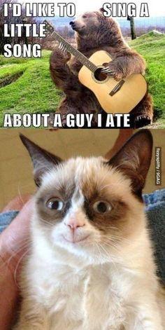 Best grumpy cat, hilarious grumpy cat, funny grumpy cat ...For more humor and funny pics visit www.bestfunnyjokes4u.com/rofl-best-funny-joke-pic/