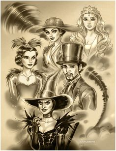 Oz: the Great and Powerful by `daekazu on deviantART