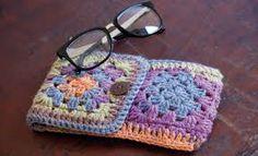 free crochet eyeglass case - Google Search