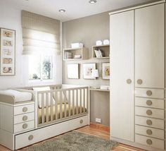 Neutral Nursery With Modern Built Ins. European Designer In Barcelona  Spain: Sergi   Http