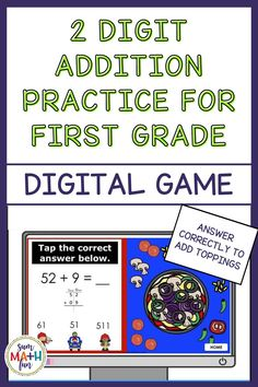 Engage your students with this super fun digital Build-A-Pizza game that is perfect to play in class or for distance learning. No prep! A correct answer adds toppings to your pizza! Kids love it! A recording sheet is included for students to show their thinking as they solve each problem. After they have solved the problem, students tap the correct answer. If they are correct, a topping is added to their pizza! Fun Math, Math Activities, Learning Games, Kids Learning, Presentation Format, School Closures, Recording Sheets, Elementary Schools, Homeschooling