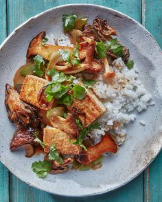 Tofu Mushroom Recipe, Mushroom Recipes, Tofu Recipes, Healthy Recipes, Healthy Meals, Feel Good Food, Food Trends, Food Inspiration, Meal Planning