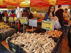 The green market, Saturdays, Union Square.