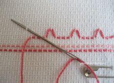 Huck Embroidery / Swedish Weaving Towel Tutorial, Part 1