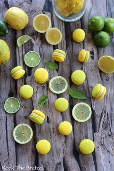 Rock The Bretzel, Lemon Macaroons, Mojito Recipe, No Bake Desserts, Cookies, Baking, Fruit, Recipes, Donuts