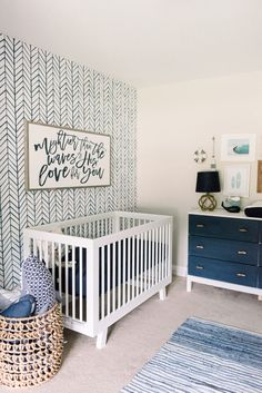 baby boy nursery room ideas 451908143857774565 - Classy Coastal Nursery – Project Nursery Source by savanabernad Coastal Nursery, Nursery Neutral, Nautical Baby Nursery, Nursery Decor Boy, White Nursery, Navy Girl Nursery, Nursery Room Ideas, Baby Bedroom Ideas Neutral, Boy Nursey