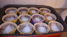 Swedish sticky chocolate muffins! A bit chewy on the edges but so soft and yummy on the inside! #kenwoodchefsense