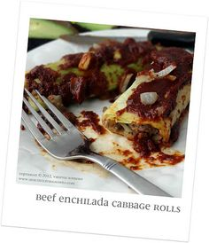 Beef Enchilada Cabbage Rolls - Healthy Living How To Recipes