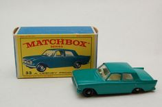 Matchbox Lesney #33 Ford Zephyr with Original Box Vintage Toy collection now for sale by RememberWhenToys on Etsy