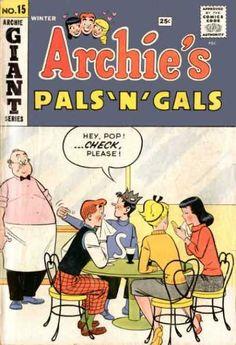 Archie's Pals 'n Gals 15, Archie Comic Publications, Inc. https://www.pinterest.com/citygirlpideas/archie-comics/