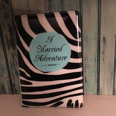 Kate Spade I Married Adventure iPad Mini Case Folio Cover Zebra Black White  | eBay
