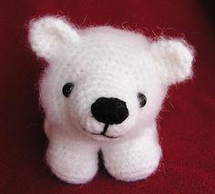 Pdf Crochet Pattern BABY POLAR BEAR