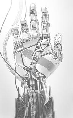 Mechanical Hand on Behance