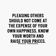 Know your worth and raise your prices