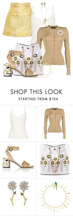 """""""FALL 2017 by ShaunSlay"""" by shaunslay ❤ liked on Polyvore featuring OLYMPIA Activewear, Dolce&Gabbana, Prada, Anabela Chan, Alison Lou and Daisy Jewellery"""