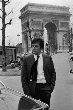 alain delon in paris