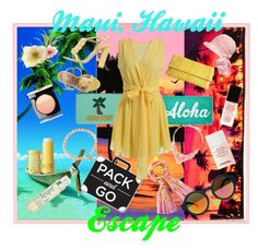 A fashion look from June 2015 featuring short cocktail dresses, leather sandals and man bag. Browse and shop related looks. Short Cocktail Dress, South Beach, Hawaiian, Eve, Valentino, Saint Laurent, Kate Spade, Chanel, Snow