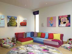 Children's playroom by http://www.concepthandtufting.co.uk