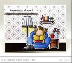 Our Story Stamp Set and Die-namics, Stitched Sentiment Strips Die-namics - Jodi Collins  #mftstamps