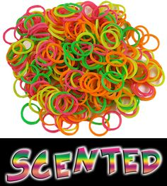 Scented Rubber Band Looms Refill (Rainbow)