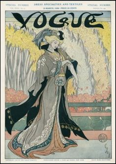 Vogue cover - March 19-1906