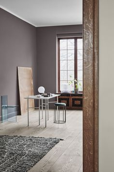 The Scandinavian Interior Colour Trends Of 2019 From Jotun Lady images ideas from Home Inteior Ideas House Paint Interior, Gold Interior, Interior Paint Colors, Interior Design, Dulux Paint Colours 2019, Interior Ideas, Dark Interiors, Colorful Interiors, Home Design