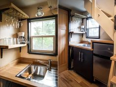 A beautiful tiny house available for rent in Seattle via Airbnb.