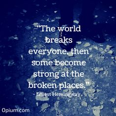 We have the ability to heal for a reason. It can make us stronger. #quotes #inspiration #recovery