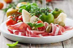 Italian antipasto | by Oxana Denezhkina