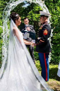 Marine Corps Wedding Dress Blues