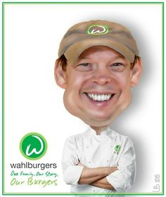 Chef Paul Wahlberg  (The Wahlbergers)