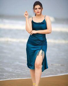 Beautiful Girl In India, Beautiful Indian Actress, Indian Natural Beauty, South Indian Actress, Indian Girls, Hottest Models, Indian Actresses, My Girl, Wrap Dress