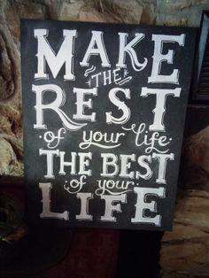 Retirement Gift-  Chalkboard $40