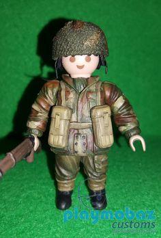 PLAYMOBIL British Paratroopers WW2