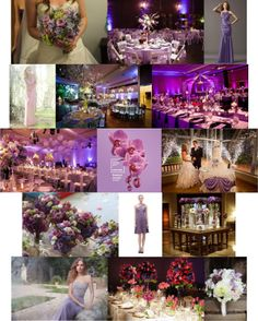 Pantone color of the year: Radiant Orchid wedding inspiration!