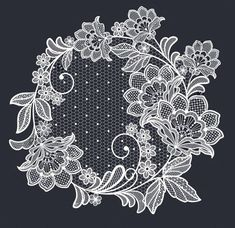 Find Lace Flowers Decoration Element stock images in HD and millions of other royalty-free stock photos, illustrations and vectors in the Shutterstock collection. Brush Embroidery, Lace Embroidery, Embroidery Patterns, Machine Embroidery, Crochet Motif, Irish Crochet, Lace Art, Lace Painting, Parchment Cards