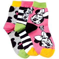 Minnie Mouse Anklet Socks